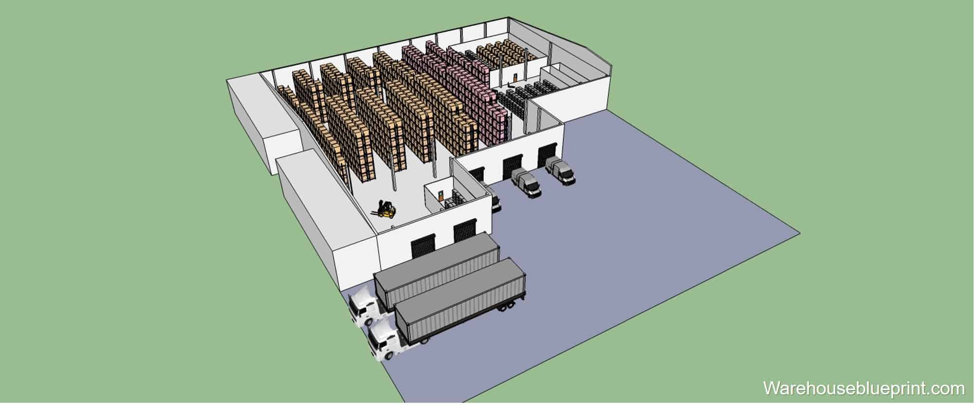 Warehouse Layout 10
