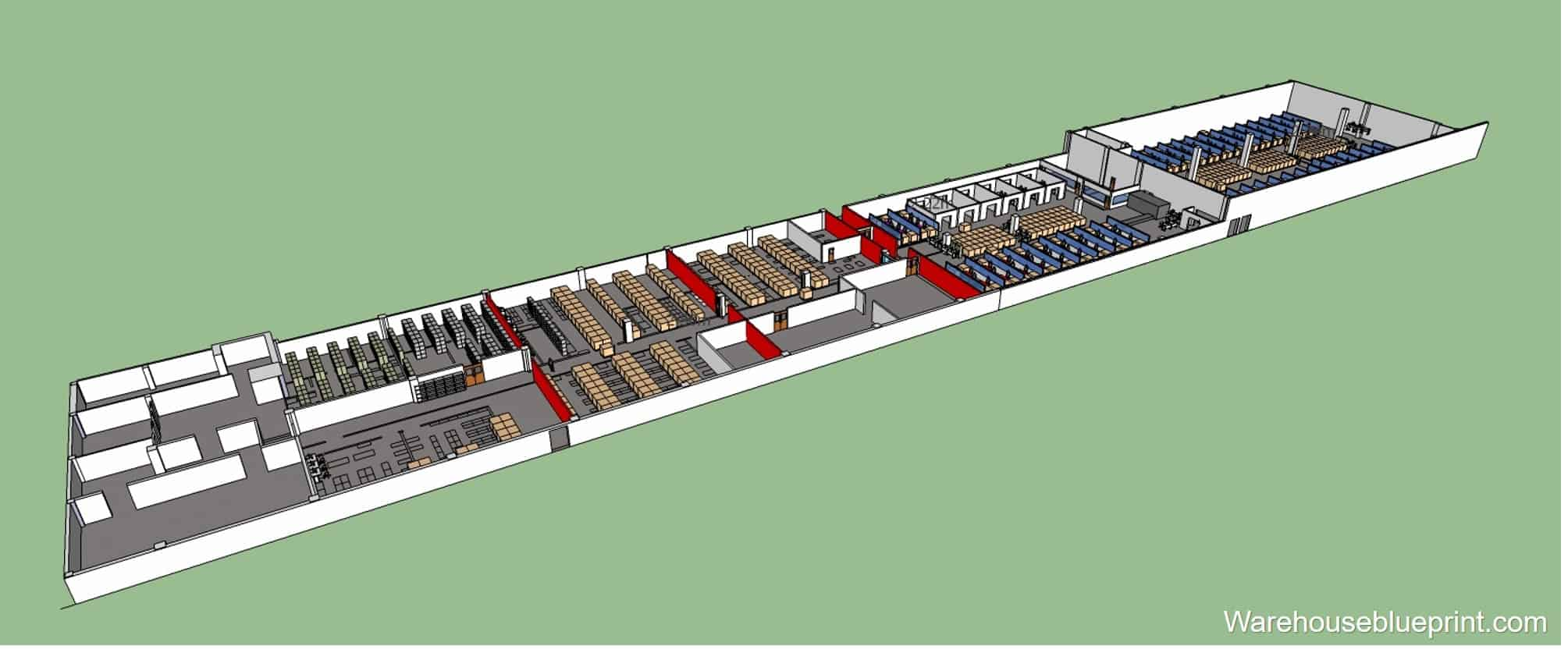 Warehouse Layout 11