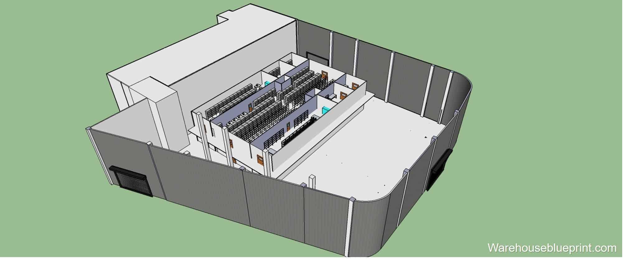 Warehouse Layout 13