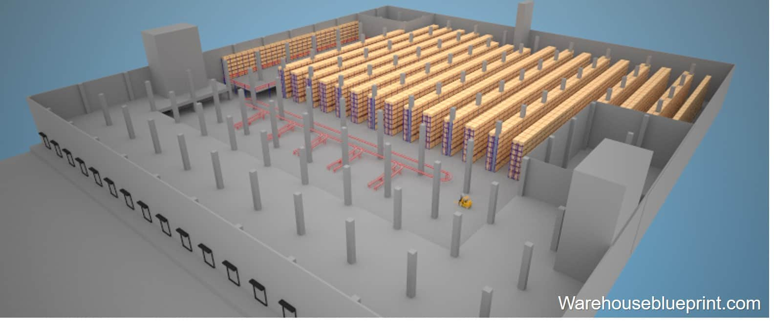 Warehouse Layout 20 - rendered