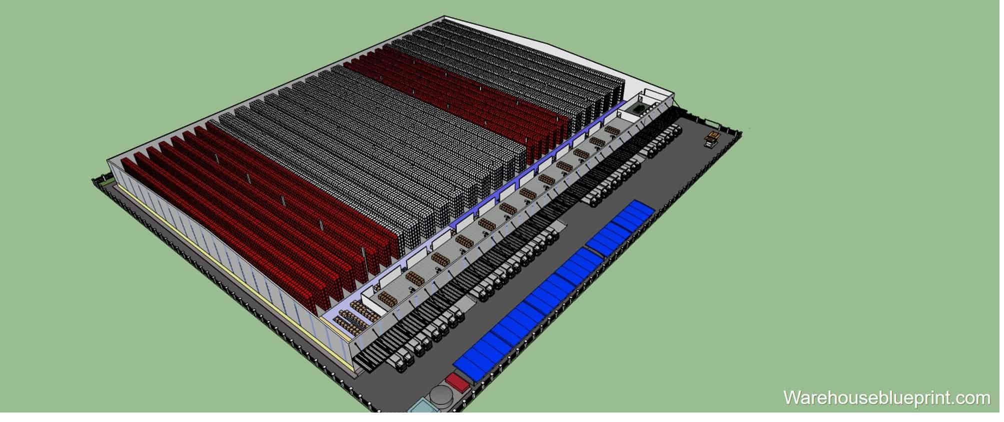 Warehouse Layout 3