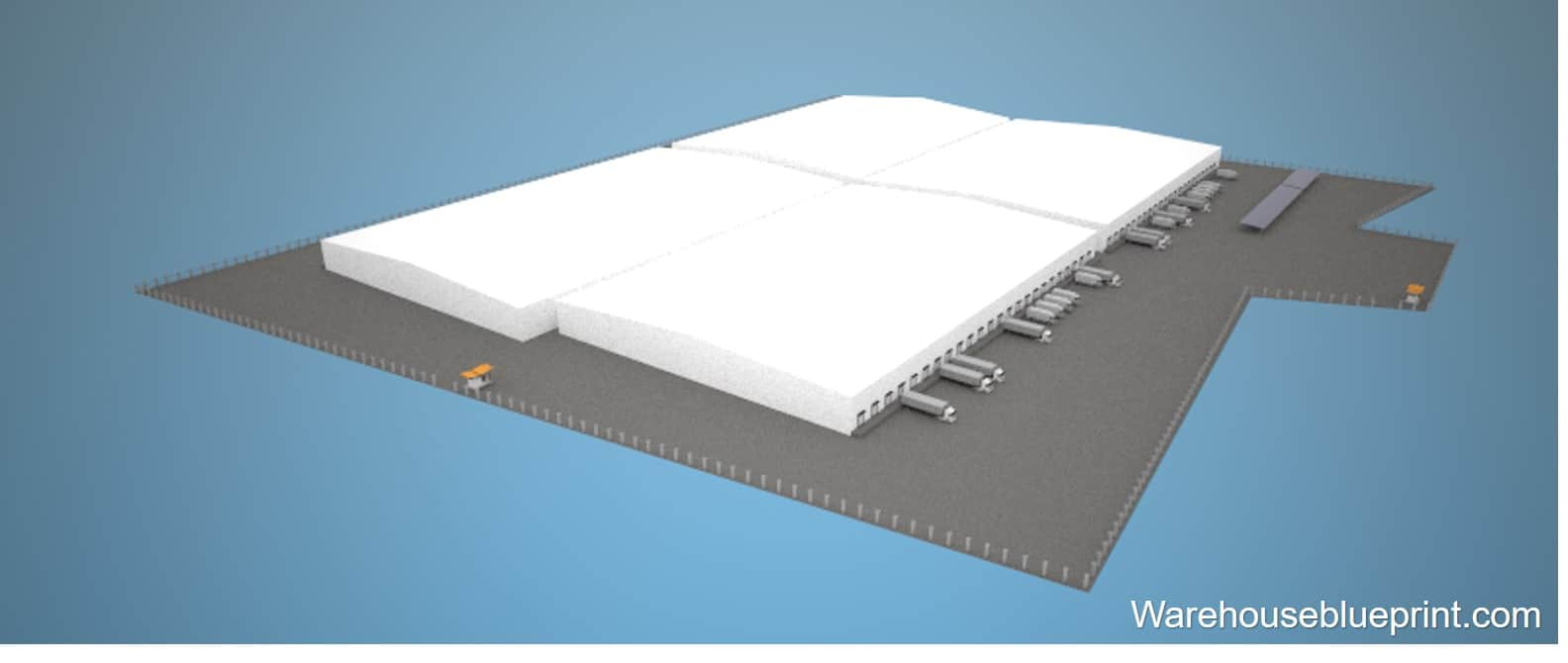 Warehouse Layout 4 - rendered