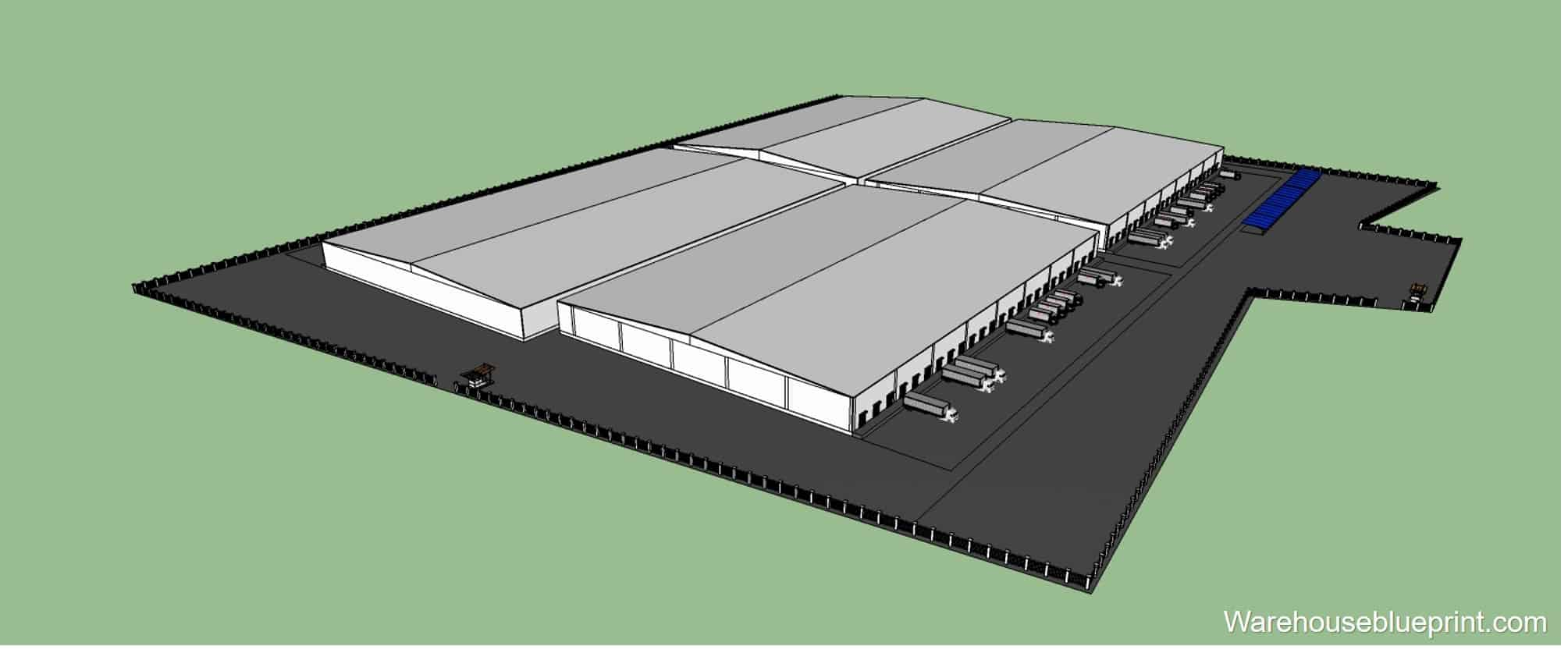 Warehouse Layout 4