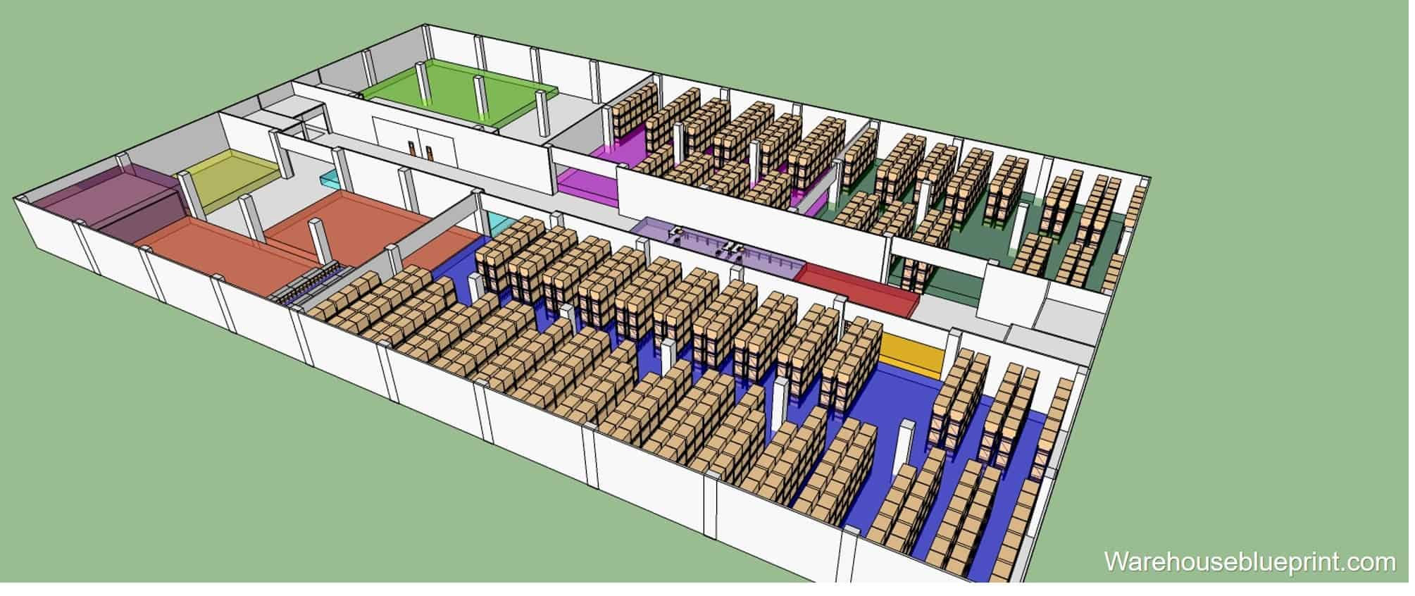 Warehouse Layout 7